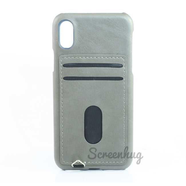 Back card case for iPhone X - Grey - screenhug