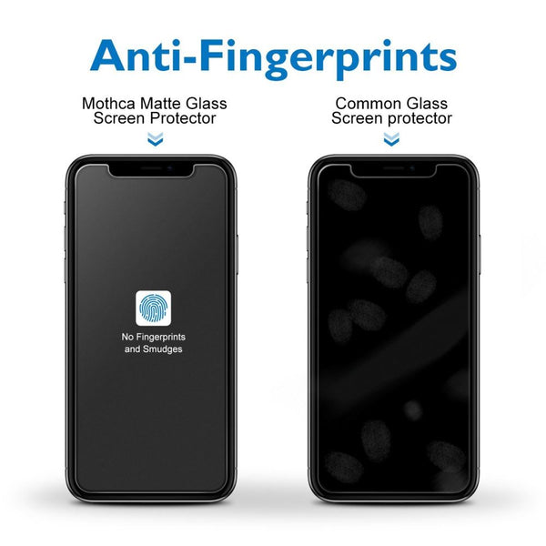 Matte Anti Glare Glass Screen Protector for iPhone 11 - Clear - screenhug