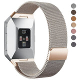 Milanese Strap for Fitbit Ionic - Champagne Gold - screenhug