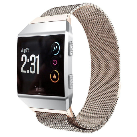 Milanese Strap for Fitbit Ionic - Champagne Gold