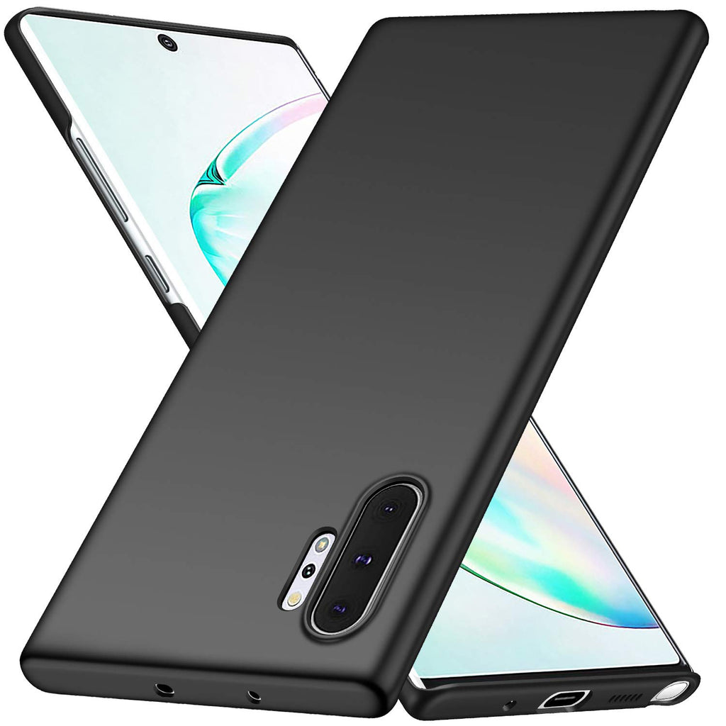 Thin shell case for Samsung Galaxy Note 10 Plus - Black - screenhug