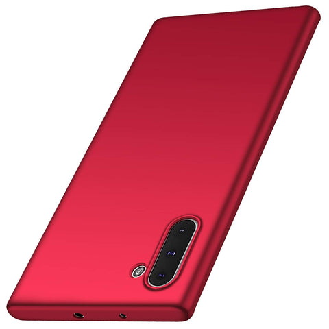 Thin shell case for Note 10 - Red