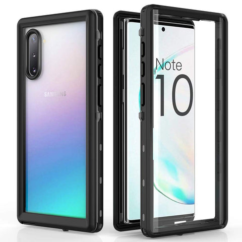 Redpepper Waterproof case for Samsung Galaxy Note 10 Plus - Black