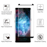 Samsung Galaxy Note 8 Glass Screen Protector - Black - screenhug