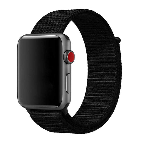 Nylon Strap for Apple Watch 38/40mm - Black