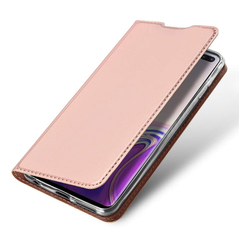 Slim one card case for Samsung Galaxy S10 - Rose