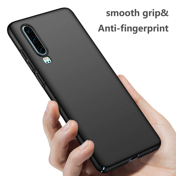 Huawei P30 Thin Shell case - Black - screenhug