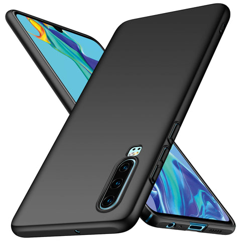 Huawei P30 Thin Shell case - Black
