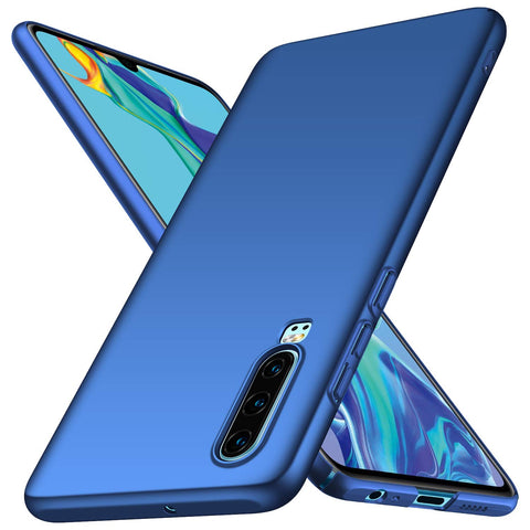 Huawei P30 Thin Shell case - Blue