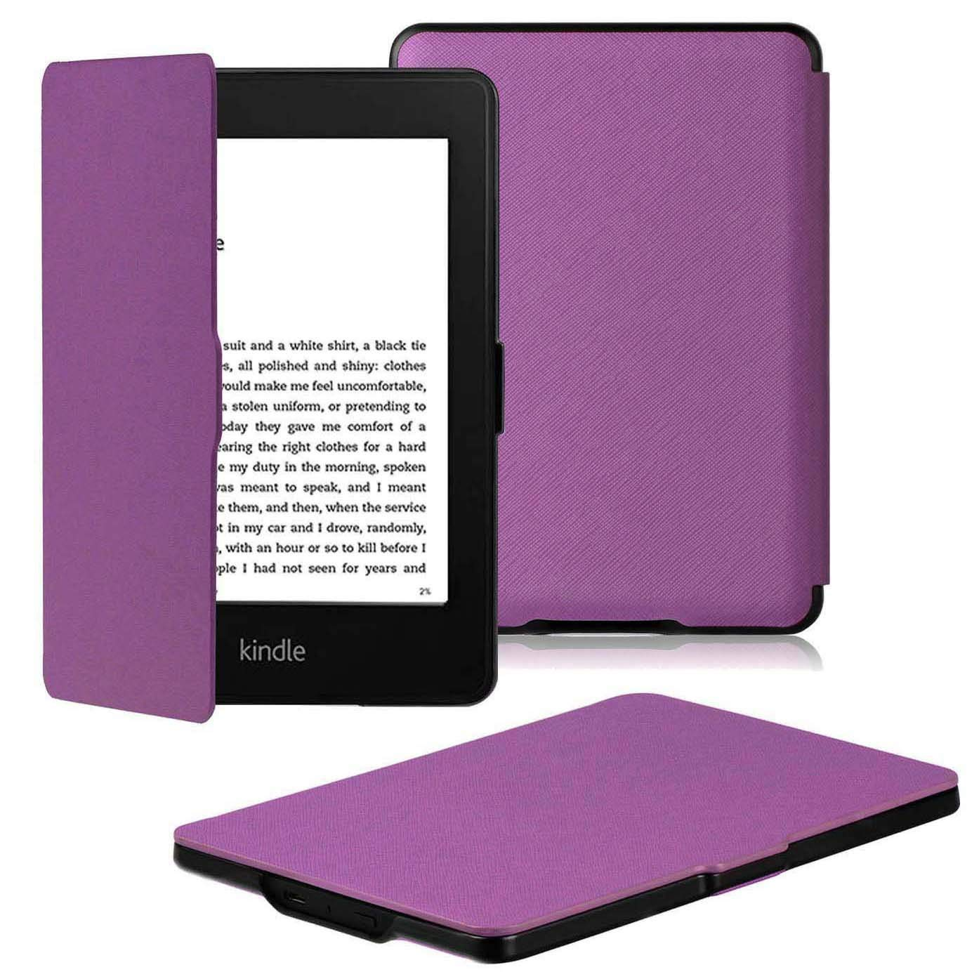 Paperwhite Flip Case for Kindle 2018 - Purple - screenhug