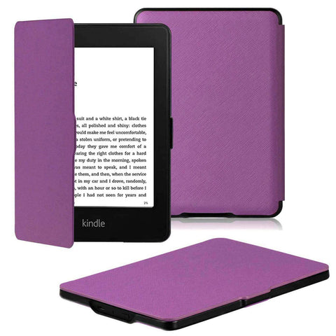 Paperwhite Flip Case for Kindle 2018 - Purple