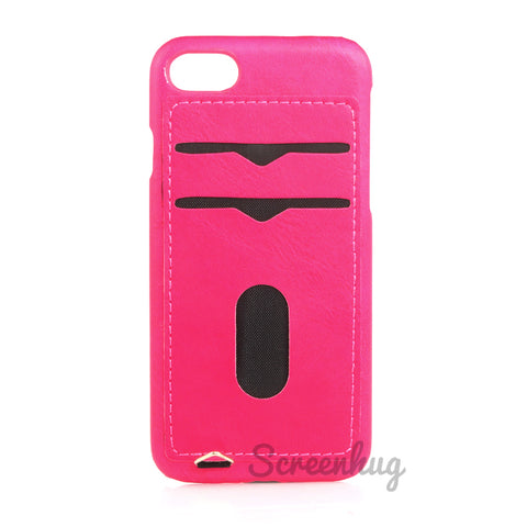 Back card case for iPhone 7/8/SE - Pink