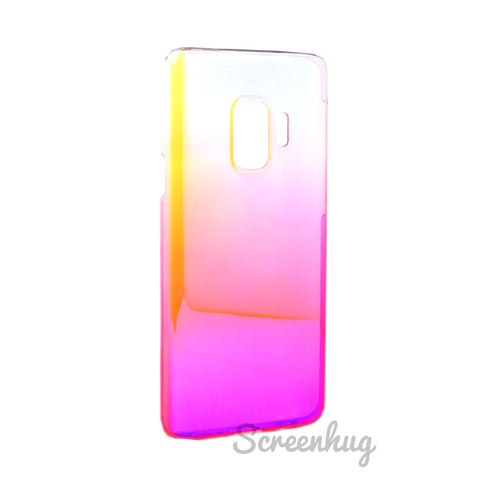 Gradient Spectrum case for Samsung Galaxy S9 - Pink