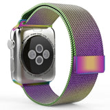 Milanese Strap for Apple Watch 38/40mm - Rainbow - screenhug