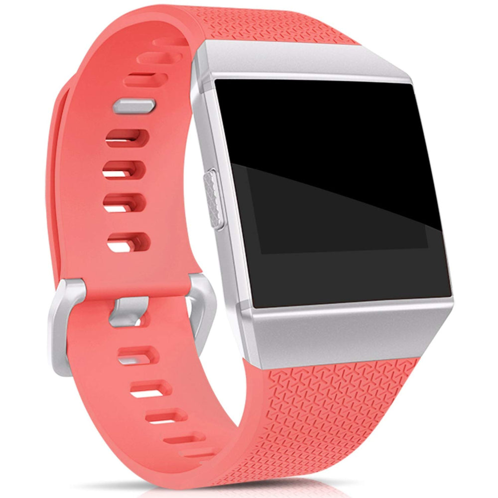 Rubber Strap for Fitbit Ionic - Red - screenhug