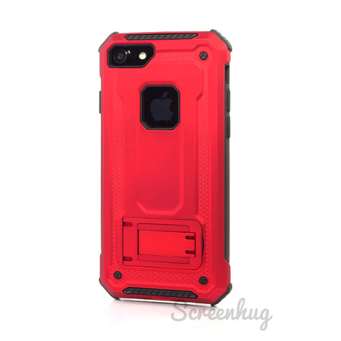 Tough Armour stand case for iPhone 7 - Red
