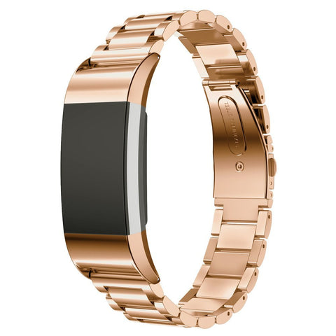 Metal Strap for Fitbit Charge 2 - Rose Gold