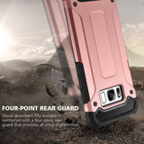 Armour Tough Shell Cover for Samsung Galaxy S8 - Rose Gold - screenhug