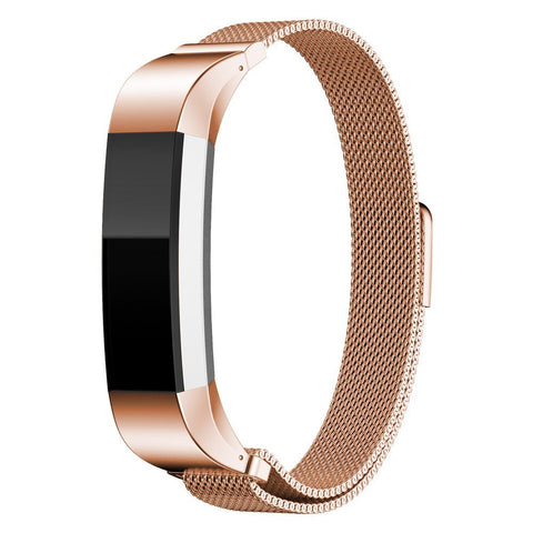 Milanese Strap for Fitbit Alta HR - Rose Gold