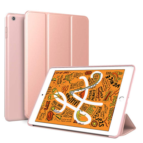 Smart Cover case for iPad mini 2019 - Rose Gold