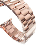 Metal Steel Strap for Apple Watch 38/40mm - Rose Gold - screenhug