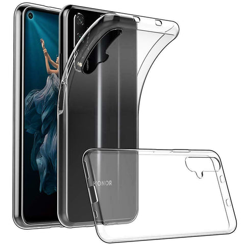Thin Gel case for Huawei Nova 5T - Clear