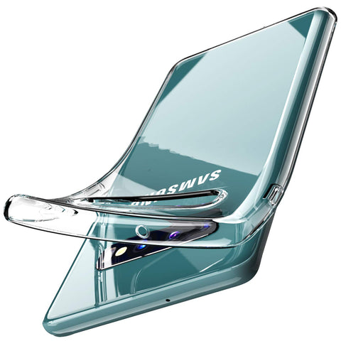 Clear gel case for Samsung Galaxy S10