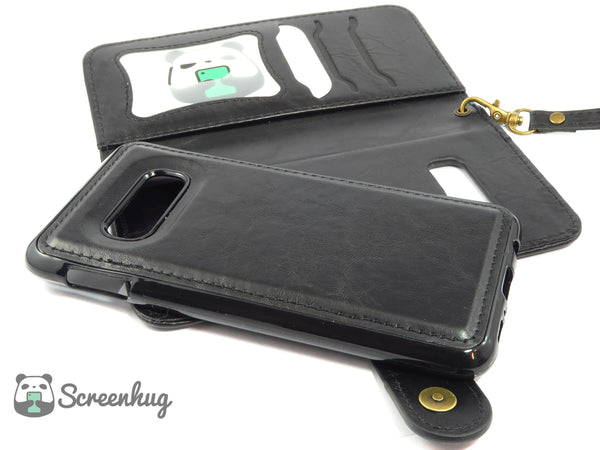 Detachable wallet case for Samsung Galaxy S10e - screenhug