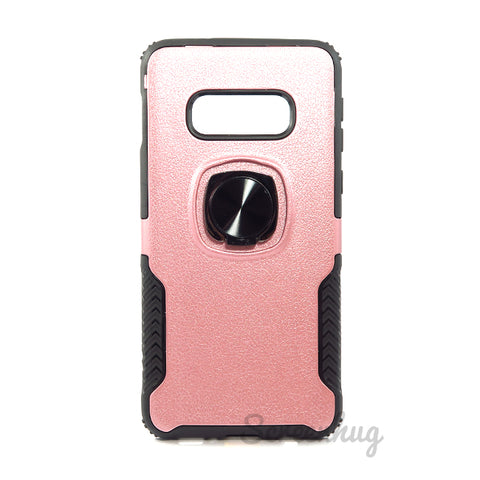 Carbon Tough Ring Case for Samsung Galaxy S10e - Rose