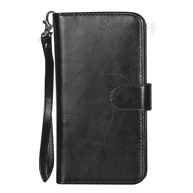 Big Detachable Wallet for Samsung Galaxy S10 Plus - Black - screenhug
