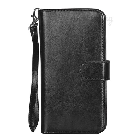 Big Detachable Wallet for Samsung Galaxy S10 Plus - Black