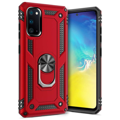 Tough Ring Case for Samsung Galaxy S20 - Red