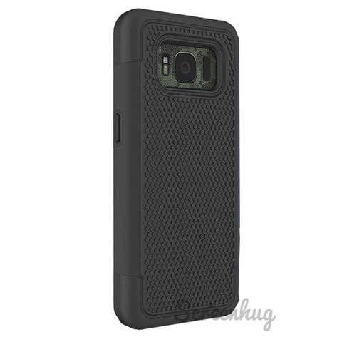Tough Grip Case for Samsung Galaxy S8 Plus - Black