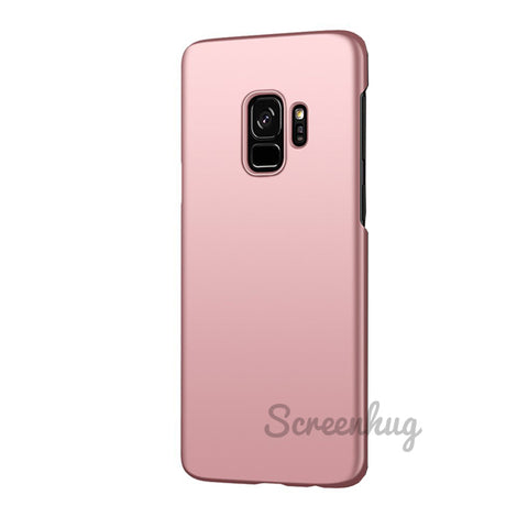 Thin Shell case for Samsung Galaxy S9 Plus - Rose gold