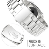 Stainless Steel Watch Strap for Samsung Watch - Silver - screenhug