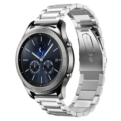 Stainless Steel Strap for Samsung Watch - Silver