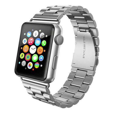 Metal Steel Strap for Apple Watch 38/40mm - Silver