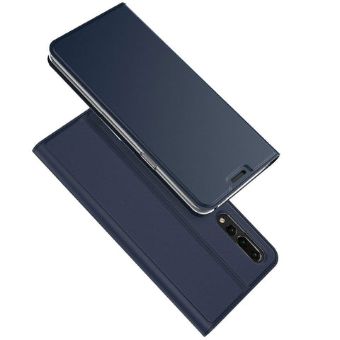 Huawei P20 Pro Slim Wallet Case - Blue