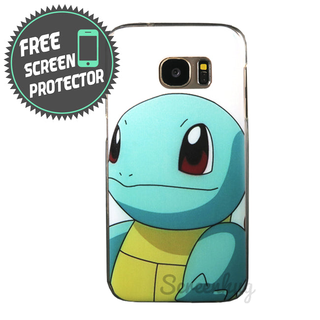 Pokemon Gel Case for Samsung Galaxy S7 - Squirtle - screenhug