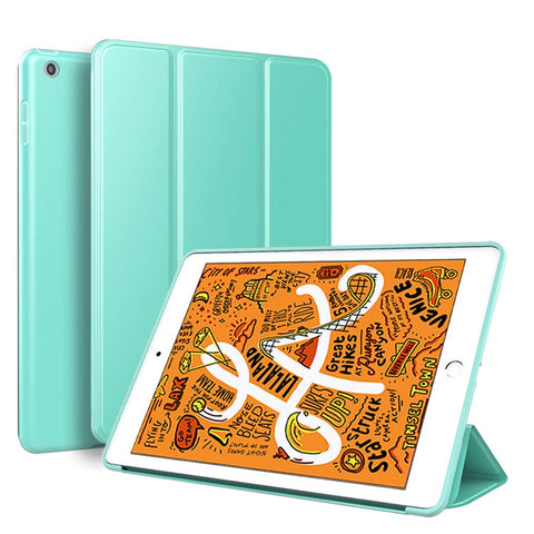 Smart Cover case for iPad mini 2019 - Teal