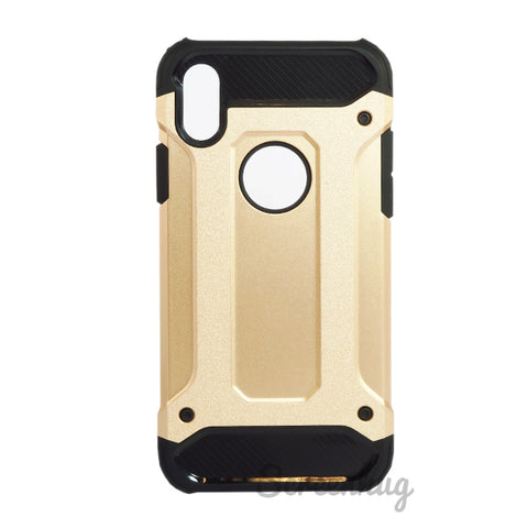 Tough Armour Case for iPhone X - Gold
