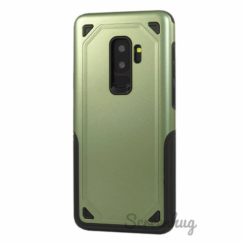 Slim Armour Case for Samsung Galaxy S9 Plus - Army Green