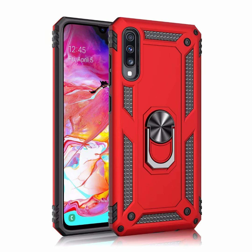Tough Stand case for Samsung Galaxy A20/A30 - Red - screenhug