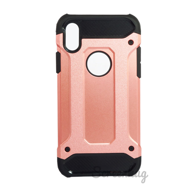 Tough Armour Case for iPhone X - Rose Gold - screenhug