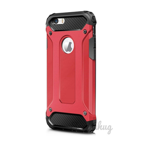 Armour Tough Shell Cover for iPhone 7/8 - Red