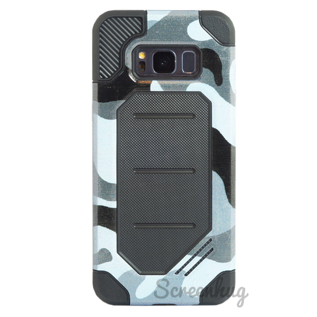 Rugged case for Samsung Galaxy S8 Plus - Urban Camo - screenhug