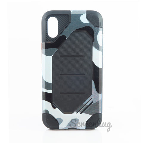 Rugged Tough Case for iPhone X/XS - Urban Camo