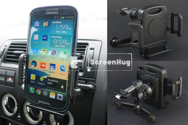 Air Vent Car Holder for Samsung and iPhone - screenhug