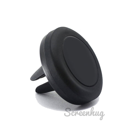 Magnet air vent car phone holder V2 - Black