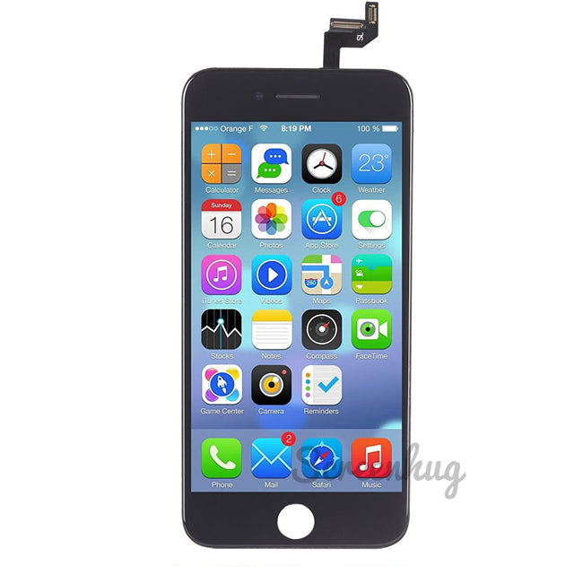 iPhone 6S Screen LCD Front - Black + SP - screenhug
